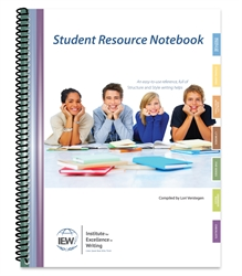 IEW Student Resource Notebook