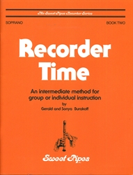 Recorder Time, Book 2 for Soprano