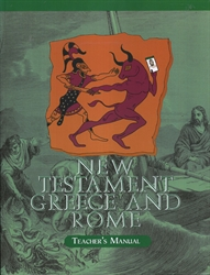 New Testament, Greece and Rome - Home Teacher Manual