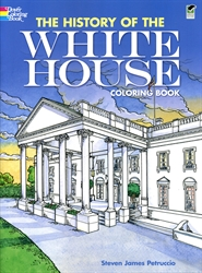 History of the White House - Coloring Book