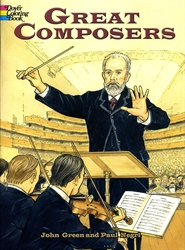 Great Composers - Coloring Book