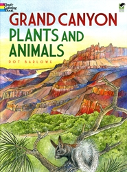 Grand Canyon Plants and Animals - Coloring Book