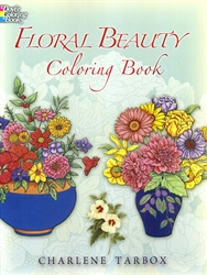 Floral Beauty - Coloring Book