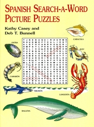 Spanish Search-a-Word Picture Puzzles