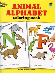Animal Alphabet - Coloring Book