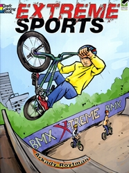 Extreme Sports - Coloring Book