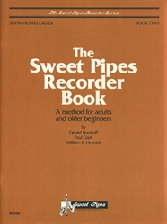 Sweet Pipes Recorder Book 2 for Soprano