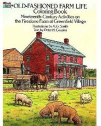 Old-Fashioned Farm Life - Coloring Book