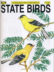 State Birds - Coloring Book