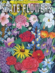 State Flowers - Coloring Book