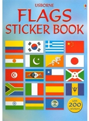 Usborne Flags Sticker Book