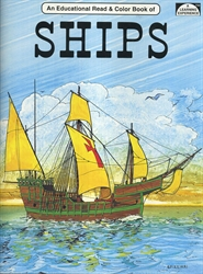 Ships - Coloring Book