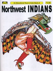 Northwest Indians - Coloring Book