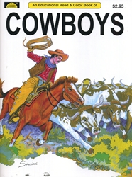Cowboys - Coloring Book