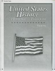 Heritage of Freedom - Test Book