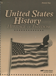 Heritage of Freedom - Answer Key