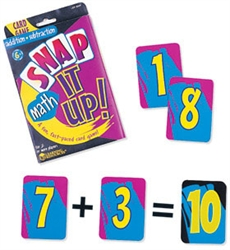 Snap It Up! Card Games—Math: Addition & Subtraction