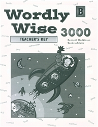 Wordly Wise 3000 Book B - Answer Key (really old)