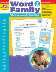 Word Family Stories & Activities A