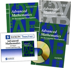 Saxon Advanced Mathematics - Home School Bundle with Teacher CD