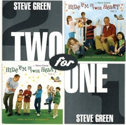 Steve Green CD: Hide 'em in Your Heart Vols 1 & 2