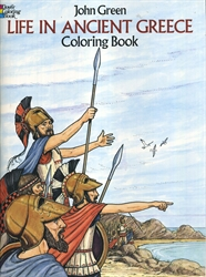 Life in Ancient Greece - Coloring Book