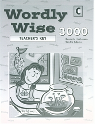 Wordly Wise 3000 Book C - Answer Key (really old)