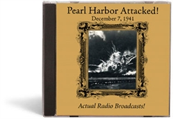 Pearl Harbor Attacked! December 7, 1941 - CD