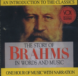 Story of Brahms in Words and Music CD