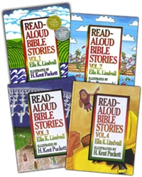Read-Aloud Bible Stories - 4-volume set