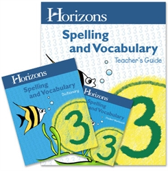 Horizons Spelling & Vocabulary 3 - Set