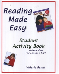 Reading Made Easy Student Activity Book One