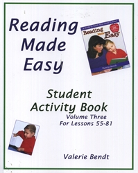 Reading Made Easy Student Activity Book Three