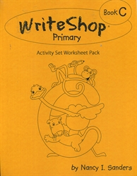 WriteShop Primary Book C - Activity Set Worksheet Pack