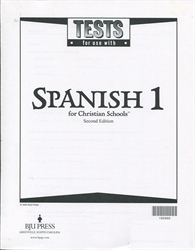 Spanish 1 - Tests (old)