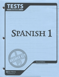 Spanish 1 - Tests Answer Key (old)