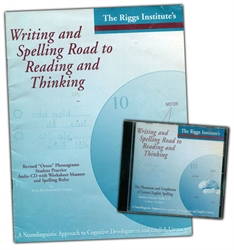 Writing and Spelling Road to Reading and Thinking - Student Practice Audio CD