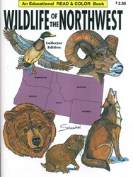 Wildlife of the Northwest - Coloring Book