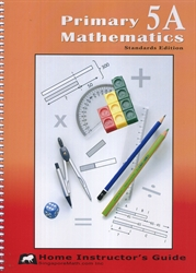 Primary Mathematics 5A - Home Instructor's Guide