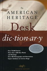 American Heritage Desk Dictionary