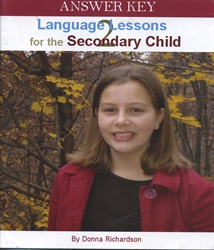 Language Lessons for the Secondary Child 2 - Answer Key