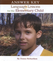 Language Lessons for the Elementary Child 2 - Answer Key