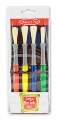 Paint Brushes (Large, set of 4)