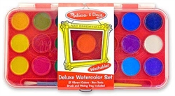Watercolor Paint Set (Deluxe, 21 colors)