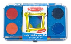 Watercolor Paint Set (Jumbo, 8 colors)