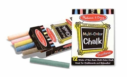 Chalk (Multi-Colored, 12 pieces)