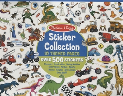 Sticker Collection (Blue)
