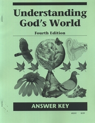 Understanding God's World - CLP Answer Key