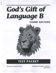 God's Gift of Language B - CLP Tests