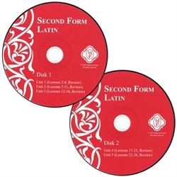 Second Form Latin - Pronunciation CD